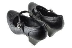 Black Lady's Shoes Stock Photography