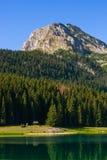 Black Lake (Crno Jezero) in Durmitor - Montenegro Royalty Free Stock Photography
