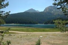 Black Lake. Crno jezero,Durmitor, National Park in Montenegro royalty free stock image