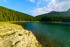 The Black Lake, Durmitor Royalty Free Stock Images