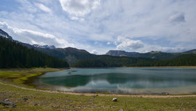 Black Lake in Durmitor, Montenegro Stock Photo