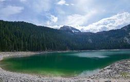 Black Lake in Durmitor, Montenegro Royalty Free Stock Image