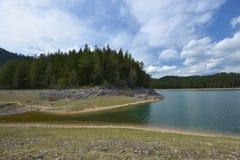 Black Lake in Durmitor, Montenegro Royalty Free Stock Photo