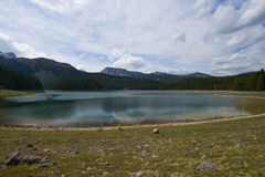 Black Lake in Durmitor, Montenegro Stock Photography
