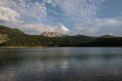 The black lake, Durmitor, Montenegro Royalty Free Stock Image