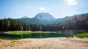 Black Lake, Durmitor national park Stock Photo
