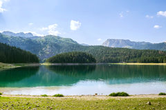 Black Lake, Durmitor national park Stock Image