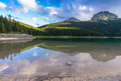 Free Black Lake (Durmitor) With Reflection. Royalty Free Stock Images - 49386969