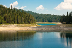 Black lake. National park Durmitor, Montenegro Royalty Free Stock Image