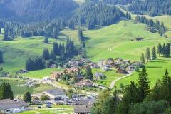 Black lake in Switzerland Royalty Free Stock Images