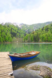 Black Lake in Turkey Royalty Free Stock Image