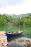 Black Lake in Turkey Royalty Free Stock Image