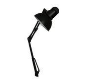 Black lamp Stock Images