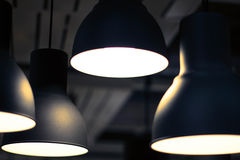 Black Lamp Royalty Free Stock Image