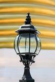 Black lantern. Stock Image
