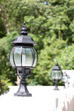Black lantern. Royalty Free Stock Photo