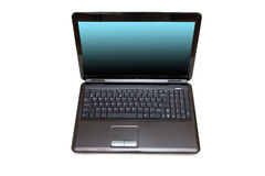 Black laptop Royalty Free Stock Photos