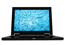 Black laptop Stock Photos