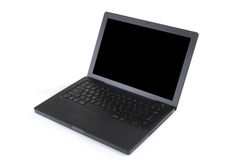 Black Laptop Royalty Free Stock Photography
