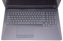 Black laptop Stock Photos