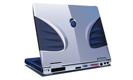 Black laptop Stock Photo
