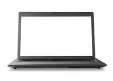 Black laptop Royalty Free Stock Images