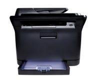 Black Laser Printer. In the phase Stock Photo