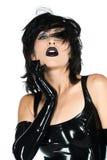 Black latex Royalty Free Stock Photography