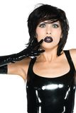 Black latex Royalty Free Stock Photo