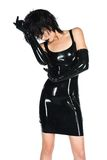 Black latex Stock Image