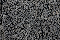 Black Lava texture Royalty Free Stock Photos