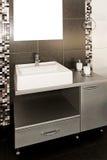 black lavatory Στοκ Εικόνα