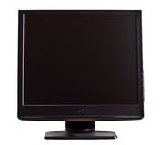 Black lcd screen Royalty Free Stock Photos