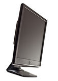 Black lcd screen Stock Images