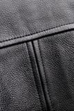 Black Leahter Jacket Royalty Free Stock Image