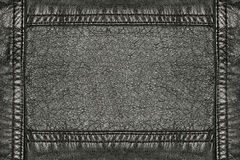 Black leather Royalty Free Stock Images
