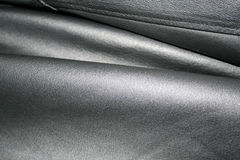 Black Leather Stock Image