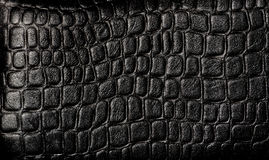 Black leather royalty free stock photo