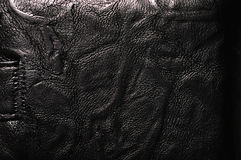 Black leather Royalty Free Stock Photography