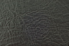 Black leather. Stock Images