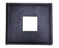 Black Leather Album Royalty Free Stock Image