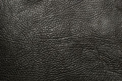 Black leather artificial texture background Royalty Free Stock Image