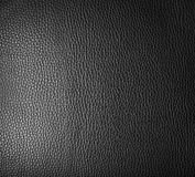 Black leather. Stock Photos