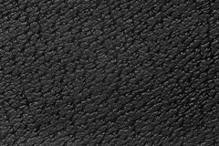 Black leather background. Cowhide pattern grey texture Stock Photo