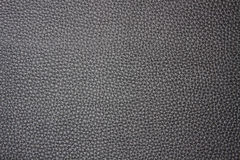Black leather background Stock Photo