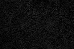 Black leather background Royalty Free Stock Images