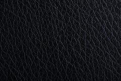 Black leather background Stock Photos