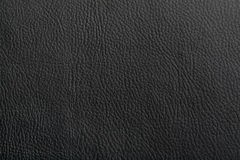 Black leather background. And texture Stock Images