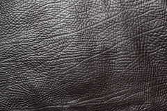 Black leather background Stock Image