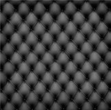 Black leather background. Vector Royalty Free Stock Image